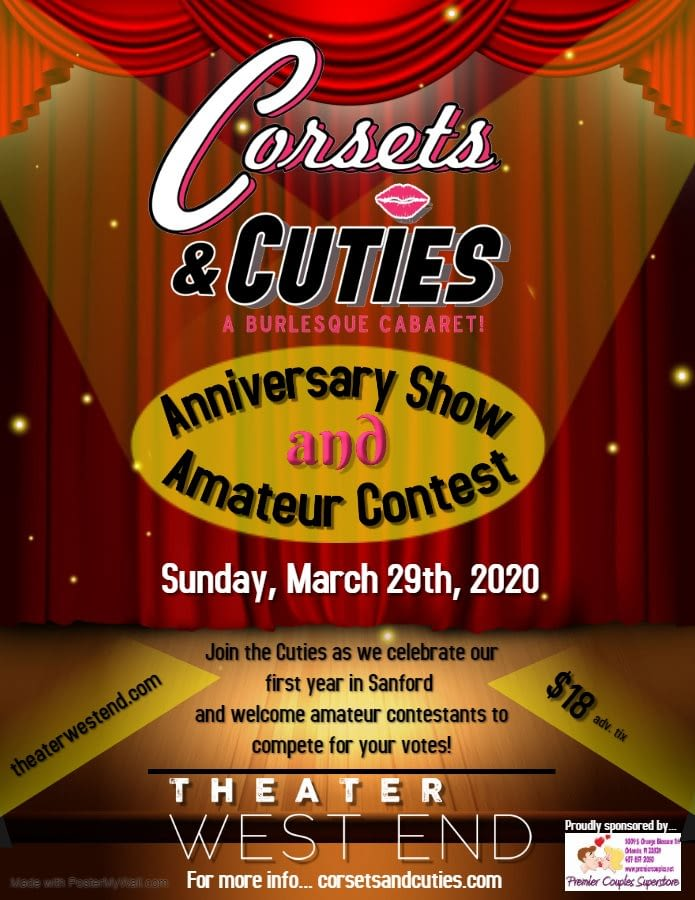 Corsets Cuties Anniversary Show and Amateur Contest